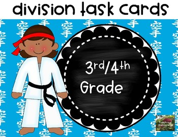 Free Division Task Cards