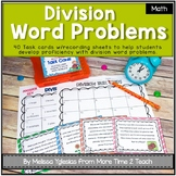 Division Word Problems Task Cards {Common Core}