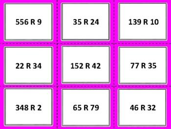 FREE  TEKS 5.3C and CC 5.NBT.B.6 Division Task Cards