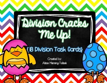 Division Task Cards (18 Cards)