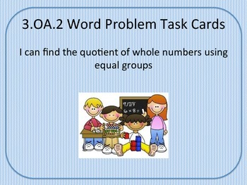 Division Task Cards