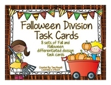 Division Task Cards [8 sets] (Fall and Halloween Theme)