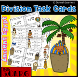 Division Task Cards -Ancient Egypt