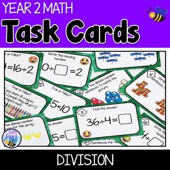 Division Task Cards Australian Curriculum Year 2