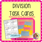 Division Task Cards: Beginning Terms and Strategies