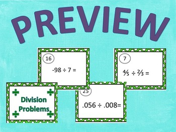 Division Task Cards Bundle!!!