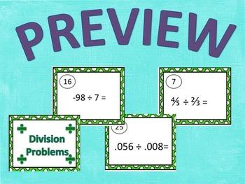 Division Task Cards Bundle!!!