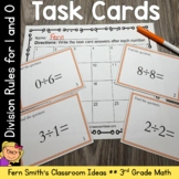 Division Task Cards - Divide By 0 and 1