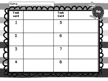 Division Task Cards- Making Equal Groups