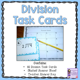 Division Task Cards (Scoot Game)