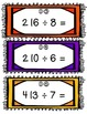 Division Task Cards- Set of 24