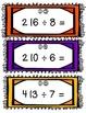Division Task Cards- Set of 24