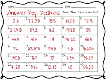 Division Task Cards: Three Digits Divided by One Digit with Remainders