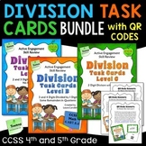 Division Task Cards and QR Codes Bundle