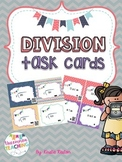 Division Task Cards [with QR Codes]