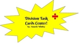 Division Task Cards/Center with no regrouping