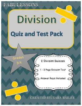 Division Test Pack