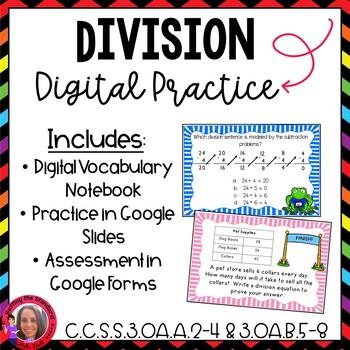 Division Test Prep CCSS Aligned Google Version