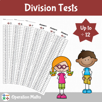 Division Tests up to divided by 12