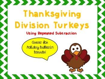 Division Thanksgiving Turkeys