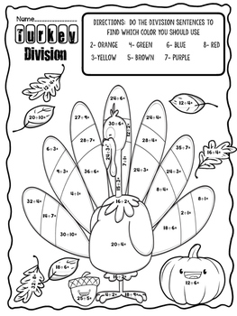Division Thanksgiving style!