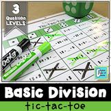 Basic Division Tic-Tac-Toe Game