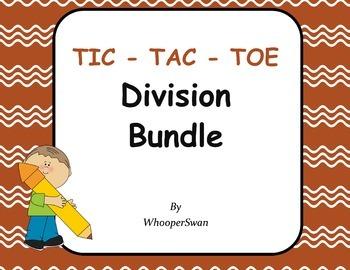 Division Tic-Tac-Toe Bundle