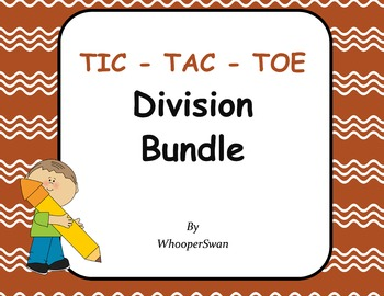 Division Tic-Tac-Toe Bundle