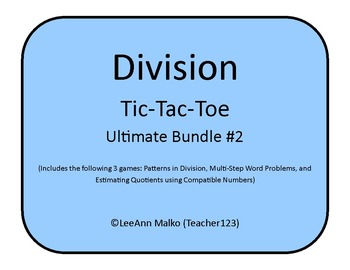 Division Tic-Tac-Toe Ultimate Bundle #2