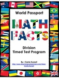 Division Timed Test World Passport Program (Common Core)