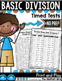 Division: Timed Tests