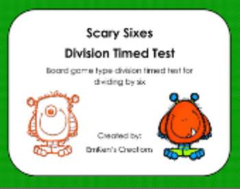 Division Timed Tests Bundle