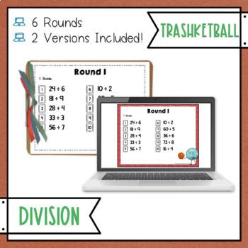 Division Trashketball Math Game
