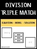 Basic Division Matching - Equation/Model/Solution