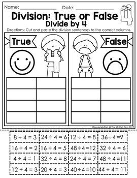 Division: True or False