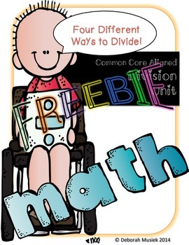 Division Unit: Teaching Strategies of Dividing FREEBIE
