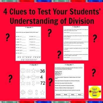 Division Unlock the Box A Fun Math Mystery