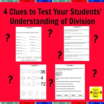 Division Unlock the Box A Fun Math Mystery