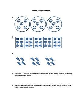 Division Using a Set Model