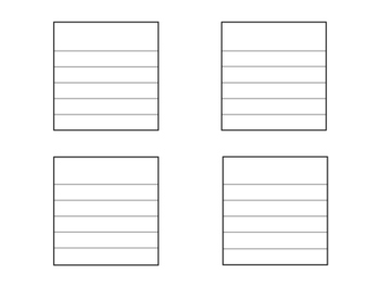 Division Vocabulary Interactive Notebook