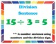 Division  My Math 3rd Grade Vocabulary Posters