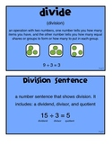 Division Vocabulary Words