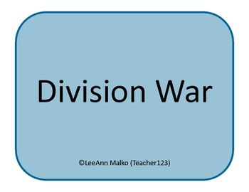 Division War - Fun Game