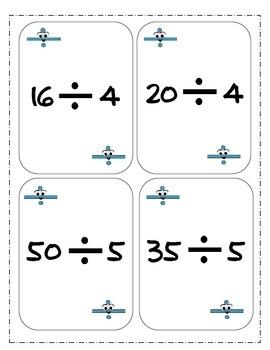 Division War-Great Math Center Game!