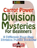 Beginners Division With Remainders Booklets: 10 Different