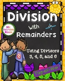 Division With Remainders Math Center Game