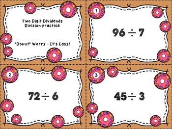 Division With Two Digit Dividends