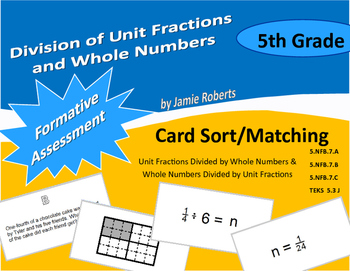 Division With Unit Fractions and Whole Numbers