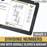 Division With and Without Remainders - 4th Grade Google Slides™ Math Center