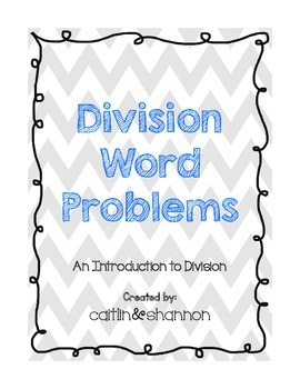 Division Word Problem Packet